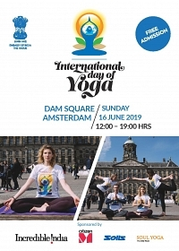 UItnodiging: International Yoga Dag te Amsterdam